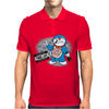 Doraemon Thug Life Mens Polo
