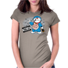 Doraemon Thug Life Womens Fitted T-Shirt