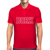 Dork Funny Slogan Mens Polo