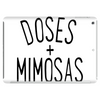 DOSES AND MIMOSAS Tablet (horizontal)