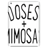 DOSES AND MIMOSAS Tablet (vertical)