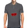 double hearts Mens Polo