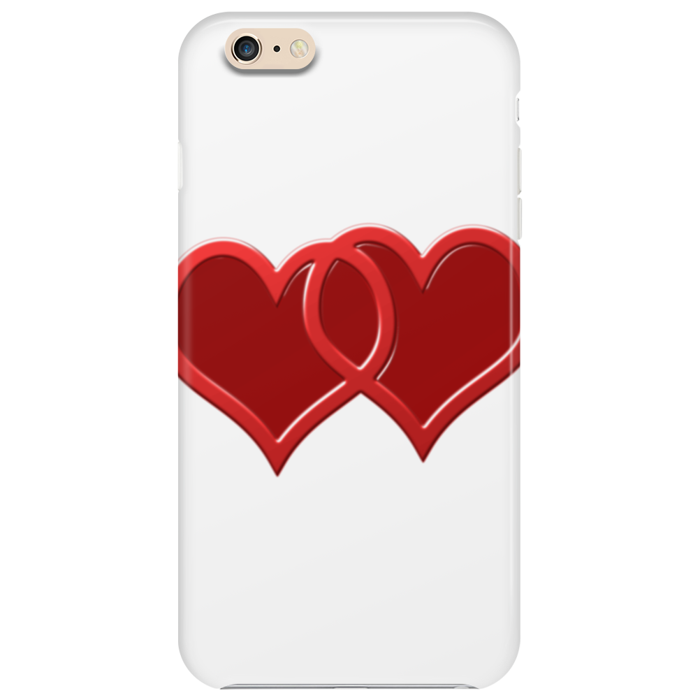 double hearts Phone Case