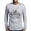 Down The Rabbit Hole Mens Long Sleeve T-Shirt