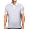 Down The Rabbit Hole (white) Mens Polo