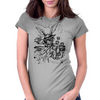 Down The Rabbit Hole Womens Fitted T-Shirt