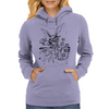 Down The Rabbit Hole Womens Hoodie