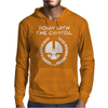 Down with it Mens Hoodie