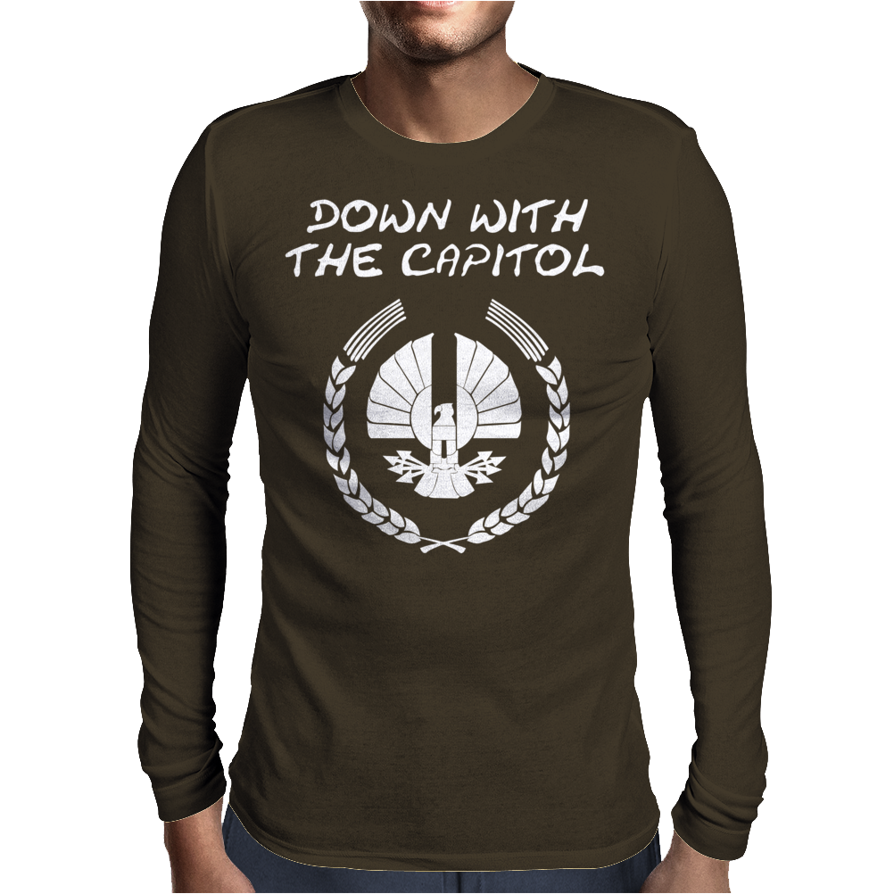 Down with it Mens Long Sleeve T-Shirt