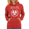 Down with it Womens Hoodie