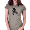 Downhiller Womens Fitted T-Shirt