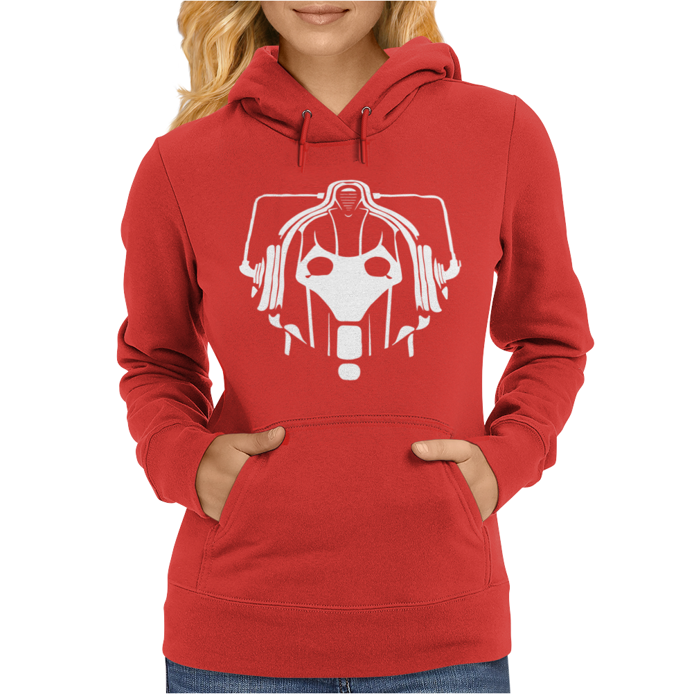 Dr Doctor Who Cyberman Womens Hoodie