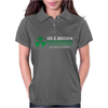 Dr Emmett Doc Brown Enterprises Back To The Future Womens Polo