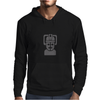 Dr Who cyberman robot Mens Hoodie
