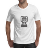 Dr Who cyberman robot Mens T-Shirt