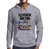 Dr Who Eleventh Doctor Mens Hoodie