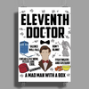 Dr Who Eleventh Doctor Poster Print (Portrait)