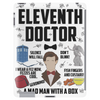 Dr Who Eleventh Doctor Tablet (vertical)