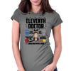 Dr Who Eleventh Doctor Womens Fitted T-Shirt