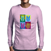 Dr Who's Warhol Cybermen Mens Long Sleeve T-Shirt