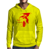 Dragon and warior Mens Hoodie