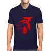 Dragon and warior Mens Polo