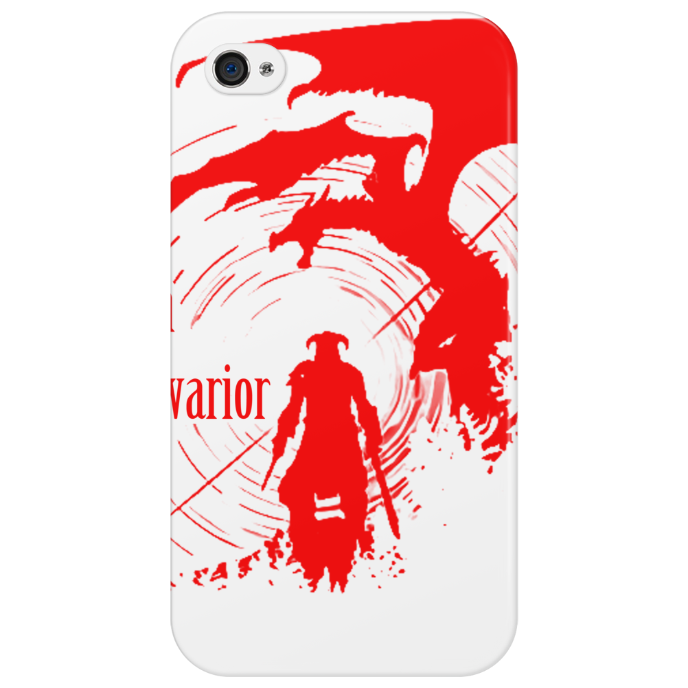 Dragon and warior Phone Case