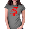 Dragon and warior Womens Fitted T-Shirt