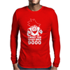 Dragon Ball Goku Over 9000! Songoku Mens Long Sleeve T-Shirt