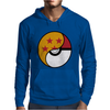 Dragon Ball x Pokemon Mens Hoodie