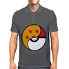 Dragon Ball x Pokemon Mens Polo