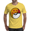 Dragon Ball x Pokemon Pokeball Mens T-Shirt