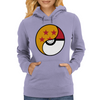 Dragon Ball x Pokemon Pokeball Womens Hoodie