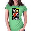 Dragon Ball Z Goku Piccolo Freeza Cell Womens Fitted T-Shirt