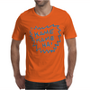 Dragon ball z texto Mens T-Shirt