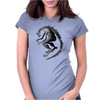 Dragon Beast 1 Womens Fitted T-Shirt