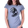 Dragon Beast  Womens Fitted T-Shirt