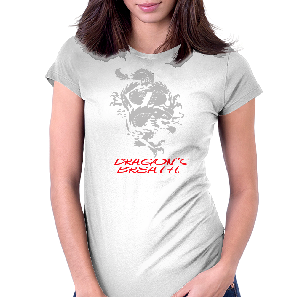 Dragon Breath Womens Fitted T-Shirt