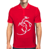 DRAGON, CHINESE, TATTOO Mens Polo