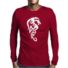 Dragon clipartist Mens Long Sleeve T-Shirt