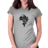 Dragon Lion Womens Fitted T-Shirt