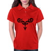 Dragon Mosaic Womens Polo