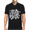 Dragon Punch Tribal Mens Polo