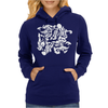 Dragon Punch Tribal Womens Hoodie