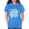 Dragon Punch Tribal Womens Polo