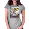 Dragon Slayer poster Womens Fitted T-Shirt
