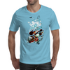 Dragon surrealistic art by Axe-illustrations Mens T-Shirt