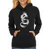 Dragon, Tribal Tattoos Womens Hoodie