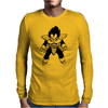 Dragonball Z Inspired Vageta Mens Long Sleeve T-Shirt