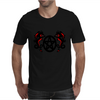 Dragons and Pentacle Mens T-Shirt